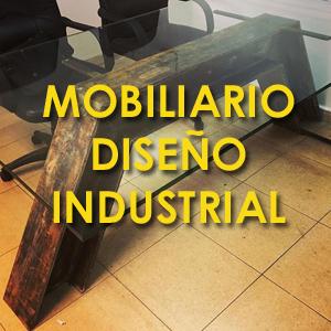 Mobiliario diseño industrial