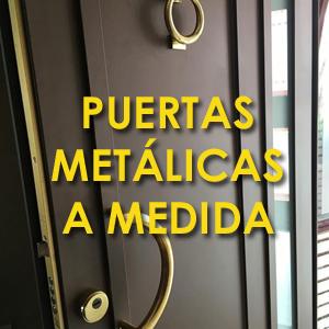 Puertas metálicas a medida